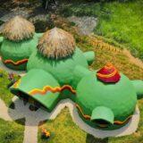 Green Moon Lodge: el caricaturesco Airbnb que destaca en Montezuma