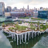 Así es el nuevo parque flotante que se inauguró en New York